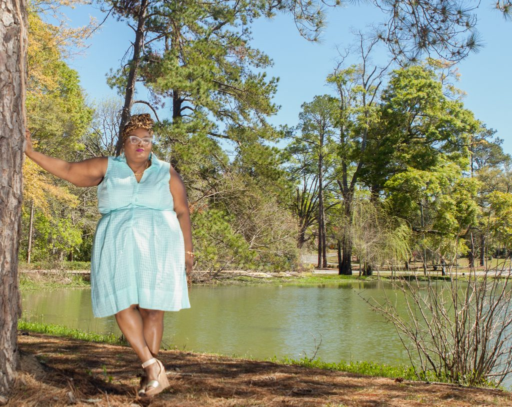 plus size blogger, Maui Bigelow Of Phat Girl Fresh