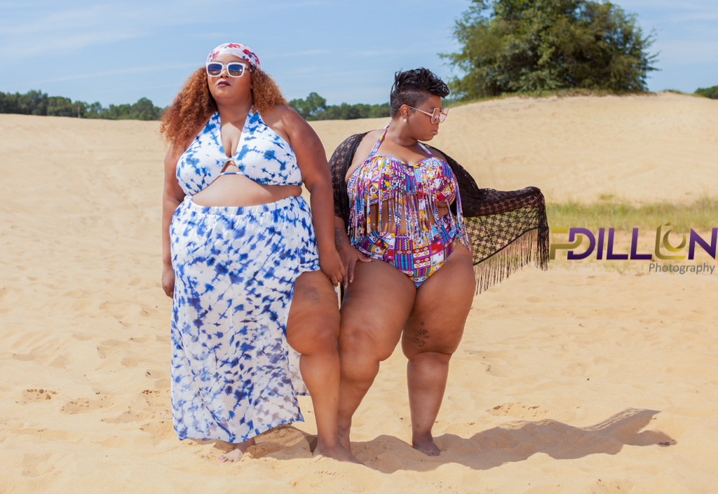 Maui Bigelow of PHAT GIRL FRESH and Dori Carter