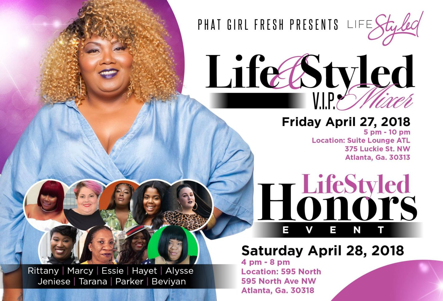 PHAT GIRL FRESH PRESENTS LIFE STYLED HONORS
