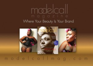 Logo and covers for Modelcall Magazine