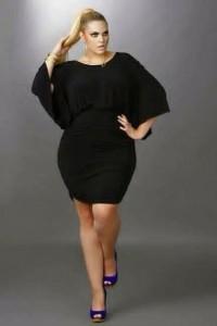 How Curvy Girls Slay The Not So Little Black Dress