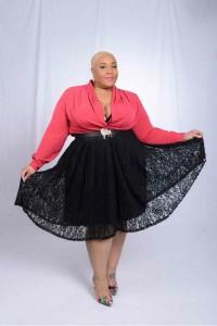 Plus Size Model Jessica Carter