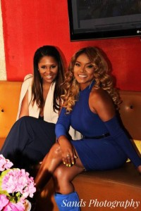 Honoree Mariah Huq and guest