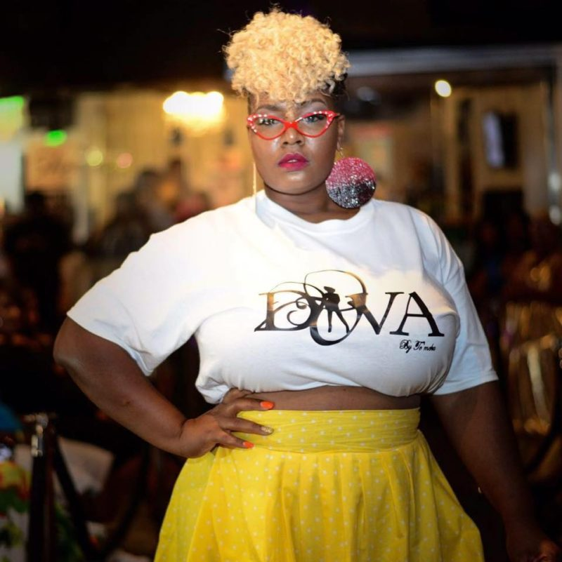 Tisa Glover rocking Diva By Tameka