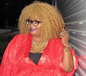 Maui Bigelow of PHAT Girl Fresh wearing Honey's Child Boutique