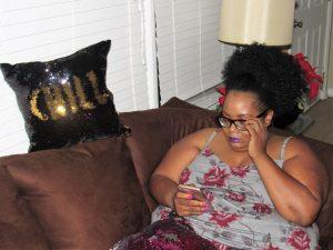 Maui Bigelow of PHAT Girl Fresh Wearing Torrid Pajamas