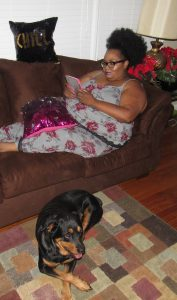 Maui Bigelow of PHAT Girl Fresh Wearing Torrid Pajamas