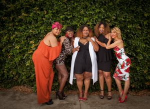Maui of PHAT Girl Fresh and friends
